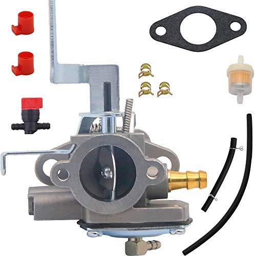 Yooppa AV520 Carburetor Kit for Tecumseh Jiffy Ice Auger Model 30 and 31 Replace 3hp 640290 640263 631720A 631720B TV085XA 2-Cycle Vertical Engine Strike Master Carburetor