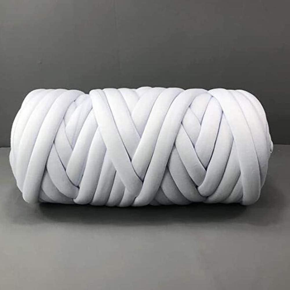 Super-cheap Braid shop Cotton Yarn Supre Large for DIY Handmade Blan arm Knitting