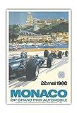 Kia Haop 24Th Monaco Car Racing Grand Prix Circuit De