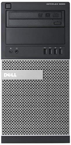 Dell OptiPlex 9020 Mini Tower PC (Intel Core i7-4770 3.4GHz, 8GB RAM, 500GB HDD, DVDRW, LAN, Integrated Graphics, Windows 7 Professional) (Renewed)