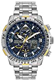 Men's Citizen Eco-Drive Promaster Blue Angels Skyhawk A-T Titanium Watch JY8101-52L