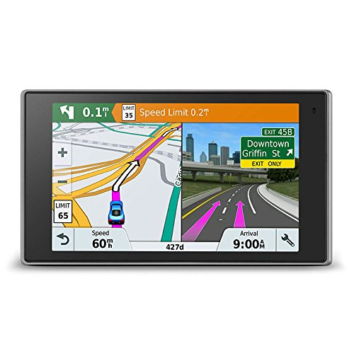 Garmin DriveLuxe 51 LMT-D EU Navigationsgerät - lebenslang Kartenupdates & Verkehrsinfos, Smart Notifications, edles Design, 5 Zoll (12,7cm) Touchdisplay