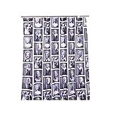Aeroway Marilyn Monroe Duschvorhang, wasserfest, 183 cm