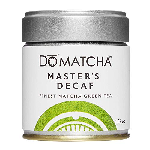 DoMatcha, Master's Decaf Matcha Powder, Authentic Japanese Green Tea, Ceremonial Grade, 1.06 oz