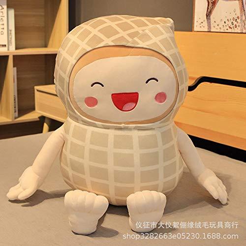 CPFYZH 80Cm Hand- und Fußkomfort Sugar Treasure Peanut Sweet Home Kissen zur Begleitung von Sleep Smile Plüsch Toy-Tangbao Peanuts_80Cm