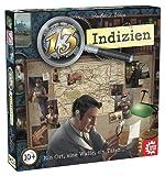 Game Factory 646217 13 Indizien-EIN Ort, eine Waffe, EIN Täter | Krimispiel, Detektivspiel für Freunde und Familie, für Kinder ab 10 Jahren, Mehrfarbig