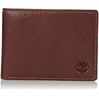 Timberland Leather RFID Blocking Passcase Security Men's Wallet (Brown)