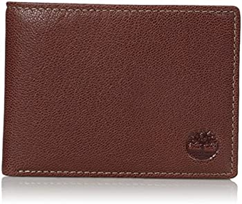 Timberland Leather RFID Blocking Passcase Security Men's Wallet