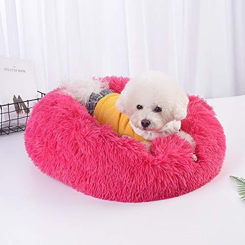 Mrzhou (Enlace de Pedido VIP) Cama de Peluche Larga Suave para Perro Cat Gato Invierno Cálido Sofá Sofá Casa Colchón para pequeños Perros de Mascotas Grandes Perritos mullidos