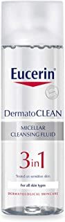 منظف من Eucerin - مناسب لجميع أنواع البشرة، 3 في 1 ، بتركيبة فعالة 200 مل
