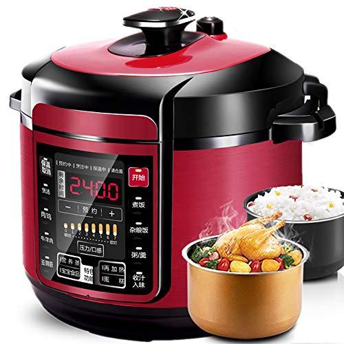 XIAOFEI Riz Cuisinier Multi Cuisinier Autocuiseur Électrique Soupe Fabricant Prime Qualité Interne Pot Spatule & Mesure Coupe Parfait Riz pour 1-6 Personnes 5L,5L