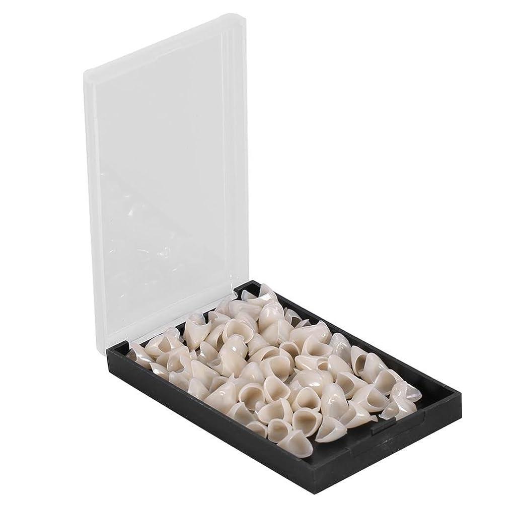 政治家クアッガ手当テンポラリークラウン - Delaman 樹脂、歯科用、1箱(50個)、前後/後歯 (Style : Anterior)
