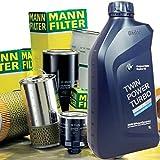 Miglior Prezzo: Kit Tagliando Kit tagliando olio motore BMW 8 LT + Filtri Mann per BMW X5 (E53) 3.0d  00-06