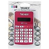 Texet - Calcolatrice portatile mc231, alimentata a batteria