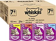 Whiskas 7+ Cat Pouches Mixed Selection in Jelly 84x 100g