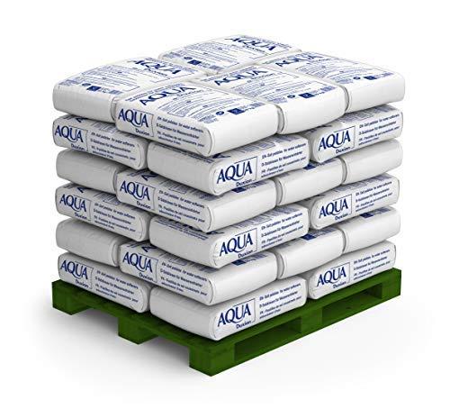 Salins Siedesalz Tabletten/Siedesalzkissen Aqua Duxion für Wasserenthärter, Schwimmbäder und Salzelektrolyseanlagen. 1.000kg (1to)/40 PE-Säcke je 25kg, bụndesweit frei Haus