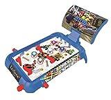 LEXIBOOK- Nintendo Mario Kart Máquina electrónica de Pinball de Mesa, Juego de acción y Reflejo para niños y familias, Pantalla LCD, Efectos de luz y Sonido, Azul/Rojo (JG610NI)