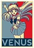 Instabuy Poster Sailor Moon Propaganda Venus - A3 (42x30