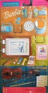 Barbie Accessory Bonanza HOBBY Fashion Avenue Accessories w Instruments & More (2001)
