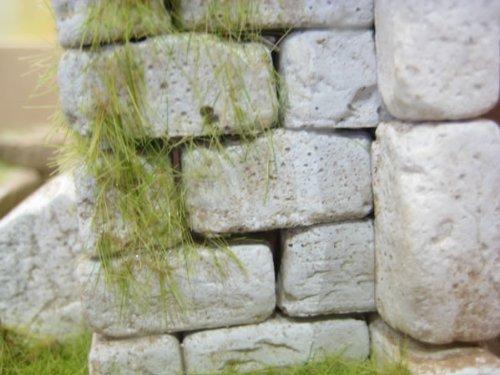 250 rechteckige Ruinen-Bausteine für Krippenbau und andere - 2