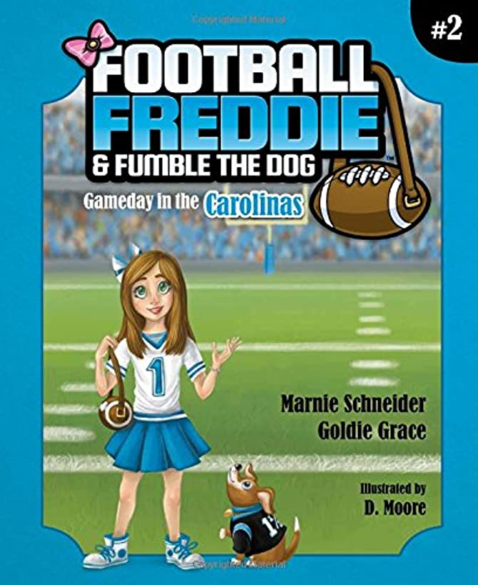 Football Freddie & Fumble the Dog: Gameday in the Carolinas