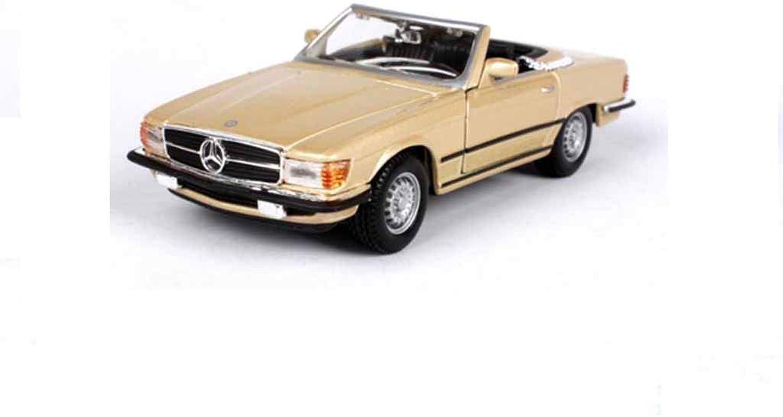 QRFDIAN modellolo di auto d'epoca in lega di simulazione   decorazione del modellololo di auto   decorazione mettuttio auto   può aprire la portiera della mac na giocattolo per bambini   decorazione per col