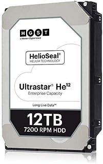 Hitachi 0F30144 HGST Ultrastar HE12 HUH721212ALE600 - Disco duro interno de 12 TB (3,5