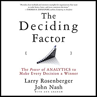 The Deciding Factor audiobook cover art