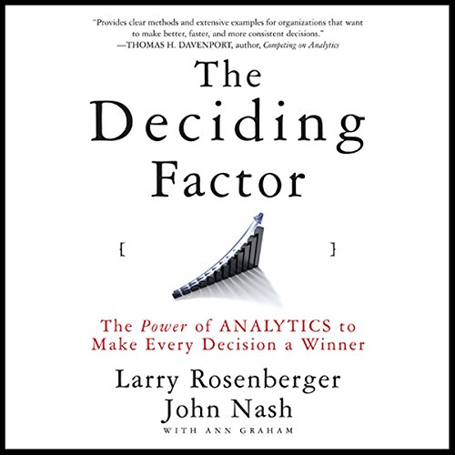 The Deciding Factor audiobook cover art