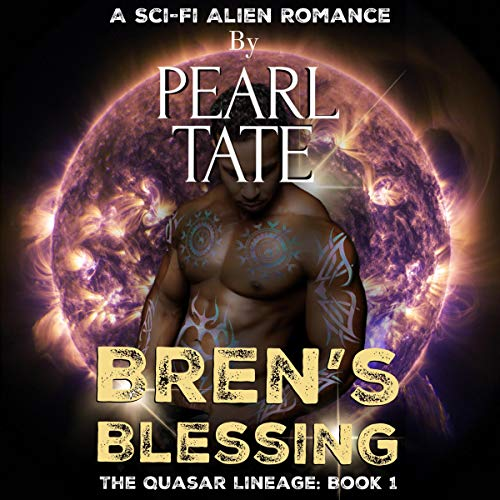 Bren's Blessing (A Sci-Fi Alien Romance) audiobook cover art