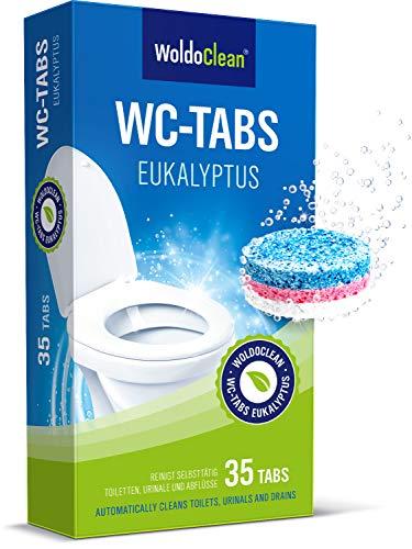 WC-Tabs 3-Phasen Kraftformel Eukalyptus Frische 35 Tabs a 20g