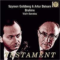 Violin Sonatas 1-3 by J. BRAHMS