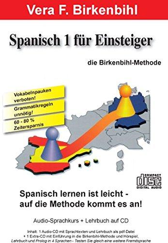 Spanisch für Einsteiger Teil 1.  Audio-CD plus pdf-Handbuch auf CD-ROM