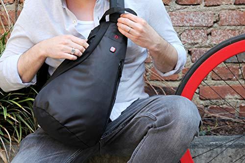 51C kopj0VL - Wenger Premium Cross Body Bag - Bolso deportivo para hombre y mujer, bolsa de deporte, bolsa de hombro para esquí…