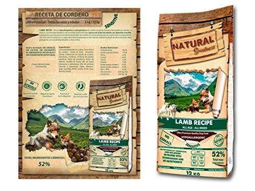 12 KG Natural greatness lamb recipe hondenvoer