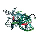 Drone Fuerza Pescador Attack-2.4ghz iluminada para Interiores/al Aire Libre Drone Helicóptero Juguete