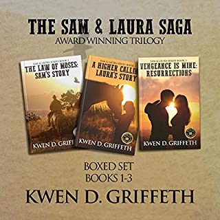 The Sam & Laura Saga     Boxset of Books 1 Through 3              By:                                                                                                                                 Kwen Griffeth                               Narrated by:                                                                                                                                 Joseph R Durika                      Length: 24 hrs and 6 mins     8 ratings     Overall 4.9