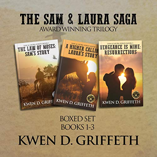 The Sam & Laura Saga audiobook cover art