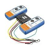 SODIAL(R)(R) Control remoto de cabrestante de torno de recuperacion inalambrica de doble auricular ATV de coche de 24V 24 voltios