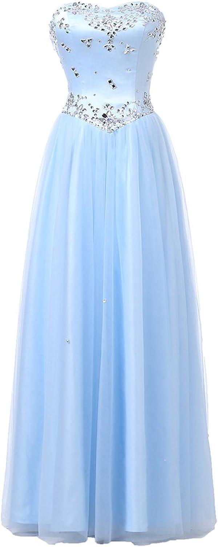 Alexzendra Girl's Tulle Prom Dress For Women 2017 Simple Graduation Party Dress Plus Size