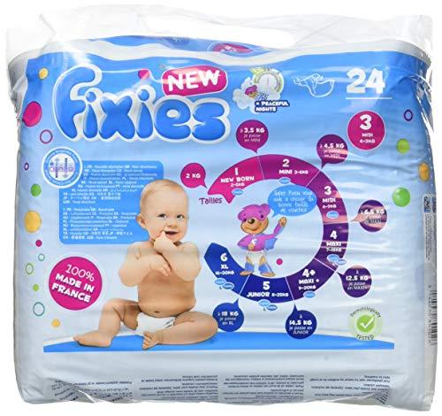 Fixies 8201021 Windeln, 4-9 kg Midi