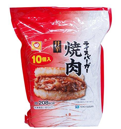 東洋水産『マルちゃん ライスバーガー焼肉』
