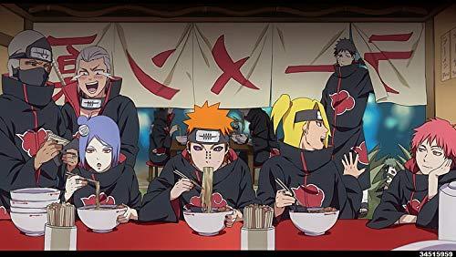 Póster de Naruto Akatsuki Naruto Deidara Naruto Anime Impresión 30,5 x 45,7 cm (Multicolor)