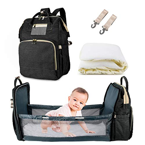 AmWile 3 in 1 Diaper Bag Backpack,Large Capacity Waterproof...