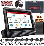 LAUNCH X-431 V+ Escáner de Diagnosis Multimarca para Coches Sistema completo OBD2 Android Tablet Sin Cables Módulo Bluetooth Dbscar V con adaptadores y con 2 Años de Actualización en Línea (Pro 3)