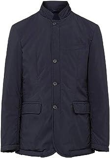 Men's Hackett London Padded Blazer in Navy (XXL) (XXL)