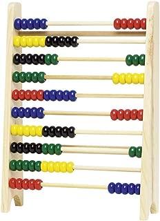 MagiDeal 12-seitig Kunststoff Abakus Z/ählwerkzeug Soroban Berechnung Mathematik Spielzeug Doppel Farbe