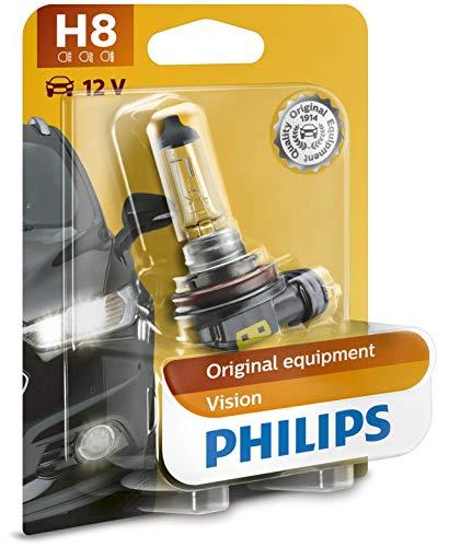 Philips 12360XVB1 Vision - Bombilla H8 para faros antiniebla (1 unidad)