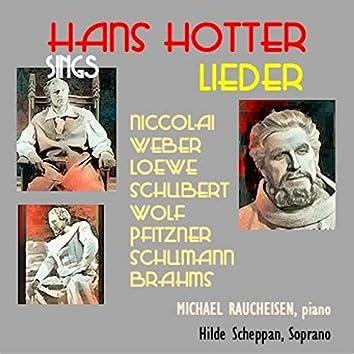 Hans Hotter sings Lieder