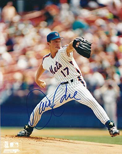 Autographed David Cone 8x10 New York Mets Photo